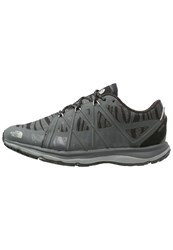 The North Face M2m Trainers Black Dark Shadow Grey
