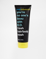 Anatomicals You're No One's Beau With B.O. Hair And Body Wash Black