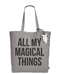 Sam Edelman Circus By Magical Things Canvas Tote Gray