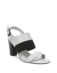 Tahari Peace Heeled Sandals Spring White