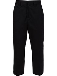 Stussy Cropped Trousers Black