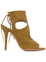 Aquazzura 'Sexy Thing' Sandals Green