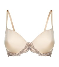 Wacoal Lace Affair Contour Bra Female Neutral