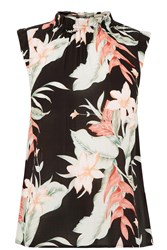 Oasis Tropical Fancy High Neck Shell Black