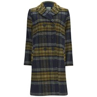 Great Plains Women's Double Breasted Coat True Navy Multi