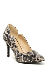 Penny Loves Kenny Friend Cutout Pump Gray
