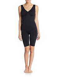 Joan Vass Seamless Shaping Camisole Black