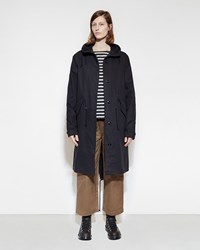 Mhl By Margaret Howell Fishtail Parka Navy