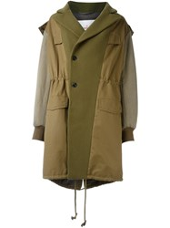A.F.Vandevorst 'Makeup' Coat Green