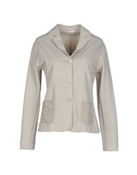 Rossopuro Suits And Jackets Blazers Women Beige