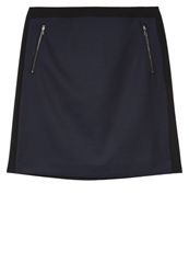 Comma Aline Skirt Blau Blue