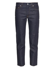 Acne Studios Row Carter Mid Rise Cropped Jeans