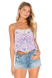 Spell And The Gypsy Collective Babushka Top Lavender
