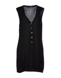 Private Lives Cardigans Black