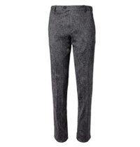 Missoni Slim Fit Zig Zag Woven Wool Blend Trousers