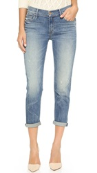 Mother The Dropout Slouchy Skinny Jeans Lost And Found