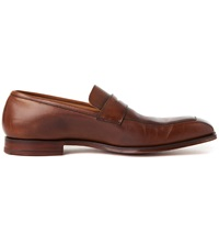 Crockett Jones Merton Apron Loafers Brown