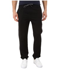 Nautica Knit Pants W Rib Cuff True Black Men's Casual Pants