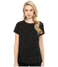 Bench Artistry Short Sleeve Tee Shirt Jet Black Women's T Shirt