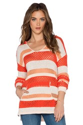 Sanctuary Baja Beach Hoodie Orange