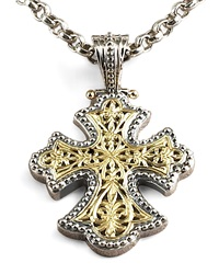 Flared Cross Pendant Konstantino