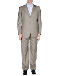Belvest Suits And Jackets Suits Men Beige