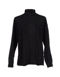 Lab. Pal Zileri Shirts Black