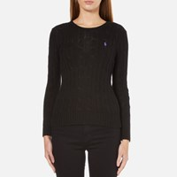 Polo Ralph Lauren Women's Julianna Crew Neck Jumper Black