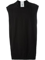 Lost And Found Rooms Sleeveless Sweatshirt Black