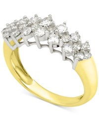 Macy's Diamond Band 1 Ct. T.W In 14K White Gold Or 14K Gold Yellow Gold