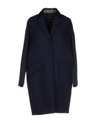 Kai Aakmann Coats Dark Blue