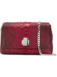 Orciani Flap Crossbody Bag Red