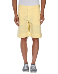 Fred Perry Bermudas Light Yellow