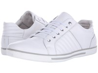Kenneth Cole Snap Down White Men's Lace Up Casual Shoes