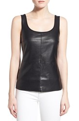 Women's Bailey 44 'Fonda' Faux Leather Front Tank