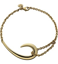 Shaun Leane Sterling Silver And Gold Plate Hook Bracelet