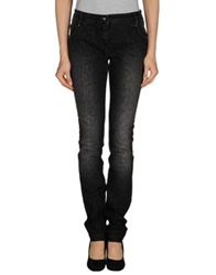Class Roberto Cavalli Denim Pants Black