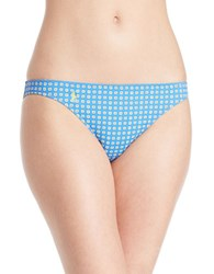Polo Ralph Lauren Foulard Patterned Hipster Swim Bottom Blue