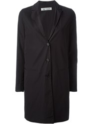 Barena Classic Single Breasted Coat Black