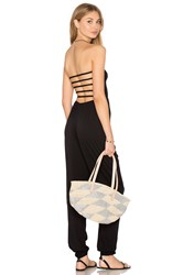 Indah Java Strapless Jumpsuit Black