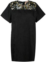 N 21 No21 Embellished Panel Shift Dress Black