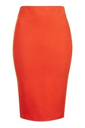 Wyldr Delilah Orange Pylorama Skirt By