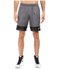 Nike Strike Printed Graphic Woven 2 Soccer Short Dark Grey Black Dark Grey Men's Shorts