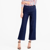 J.Crew Petite Side Zip Rayner Jean In Norwood Wash