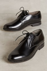 Anthropologie Hudson Olivia Patent Leather Oxfords Black