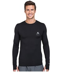 Burton Lightweight Crew True Black 1 Men's Long Sleeve Pullover