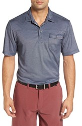 Travis Mathew Men's 'B Stock' Pocket Pique Polo