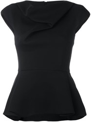 Chalayan Cap Sleeve Top Black