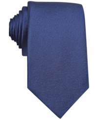 Bar Iii Carnaby Collection Sable Solid Tie Navy