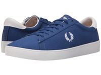 Fred Perry Spencer Canvas 1964 Royal White Men's Lace Up Casual Shoes Blue